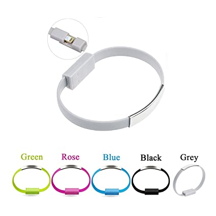 Amazon Com Wrist Band Bracelet Fast Usb Charger Cable Bestga