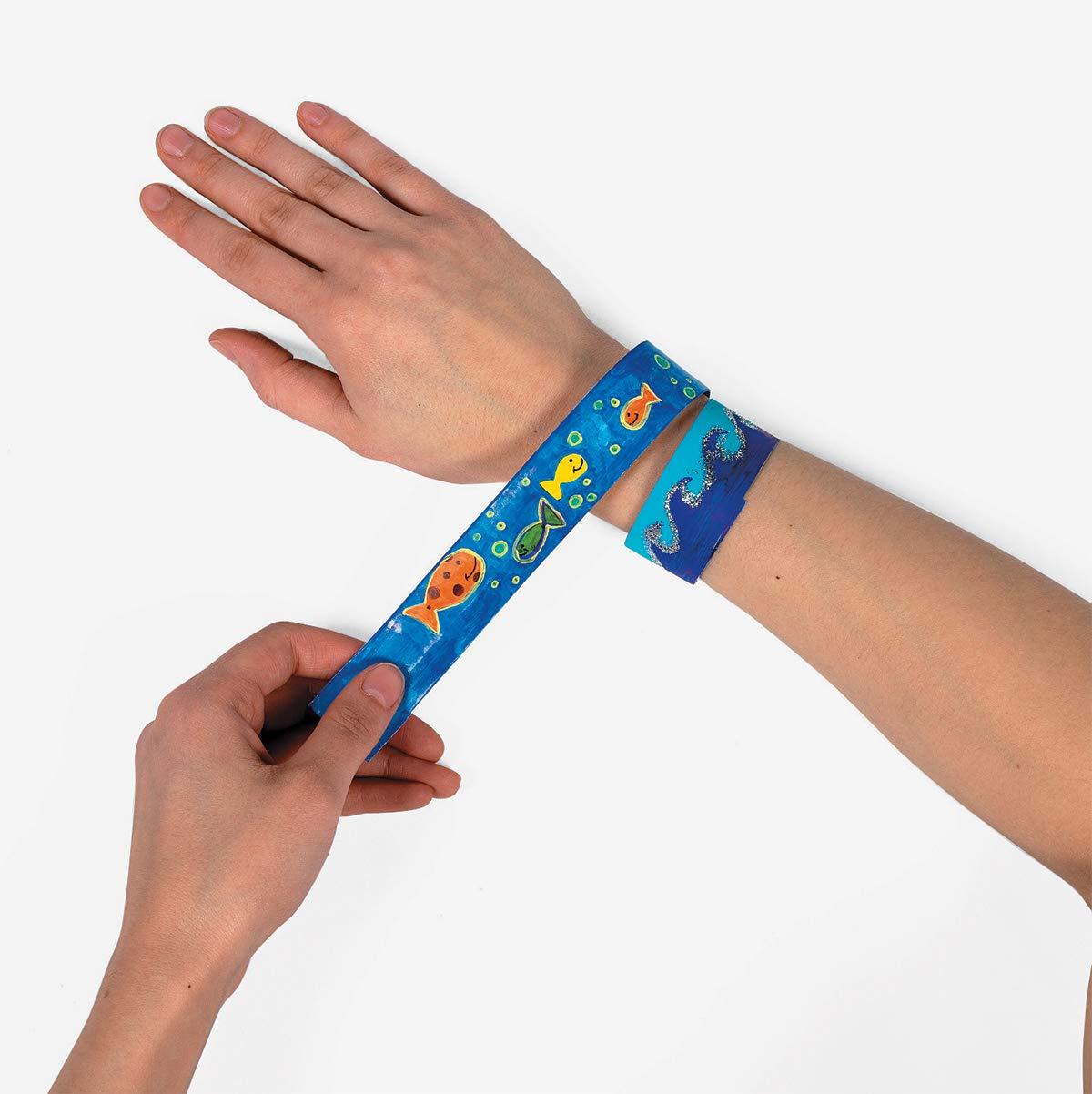 Fun Express DIY Slap Bracelet 24 pc