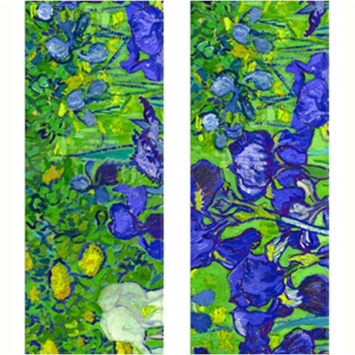 Vincent Van Gogh Irises Travel Luggage Strap Suitcase Security Belt. Heavy Duty & Adjustable. Must Have Travel Accessories. TSA Compliant. 1 Luggage Strap & 1 Add A Bag Strap. 2-Piece Set. by One In A Millionaire (Image #1)