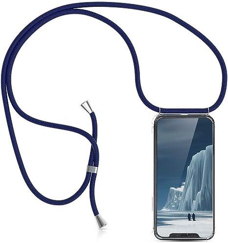 KNOK Case Carcasa de movil con Cuerda para Colgar iPhone 11 Pro Funda para iPhone//Samsung//Huawei con Correa Colgante Hecho a Mano en Berlin con Cordon para Llevar en el Cuello