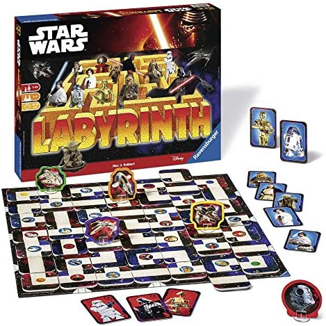 Star Wars-00.026.666 Star Wars juego de mesa, Multicolor, 7 a&ntildeos (Ravensburger 26666 1) , color/modelo surtido: Amazon.es: Juguetes y juegos