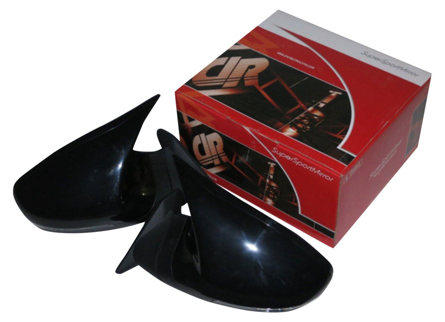 GTSミラー LED ブラック 電動格納 ミラー面電動調整 右ハンドル 日産 ティアナ J31系 [2003~2008] SBMGTSBKAALHR-1413 B075S7Y35C 日産 ティアナ J31系 [2003~2008]|ブラック ブラック 日産 ティアナ J31系 [2003~2008]