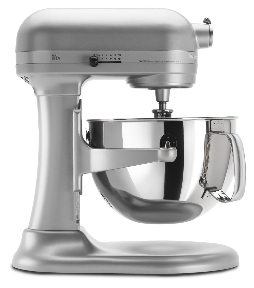KitchenAid KP26M1XNP 6 Qt. Professional 600 Series Bowl-Lift Stand Mixer