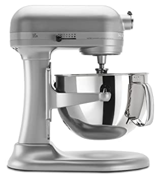 KitchenAid KP26M1XNP 6 Qt. Professional 600 Series Bowl Lift Stand Mixer    Nickel Pearl