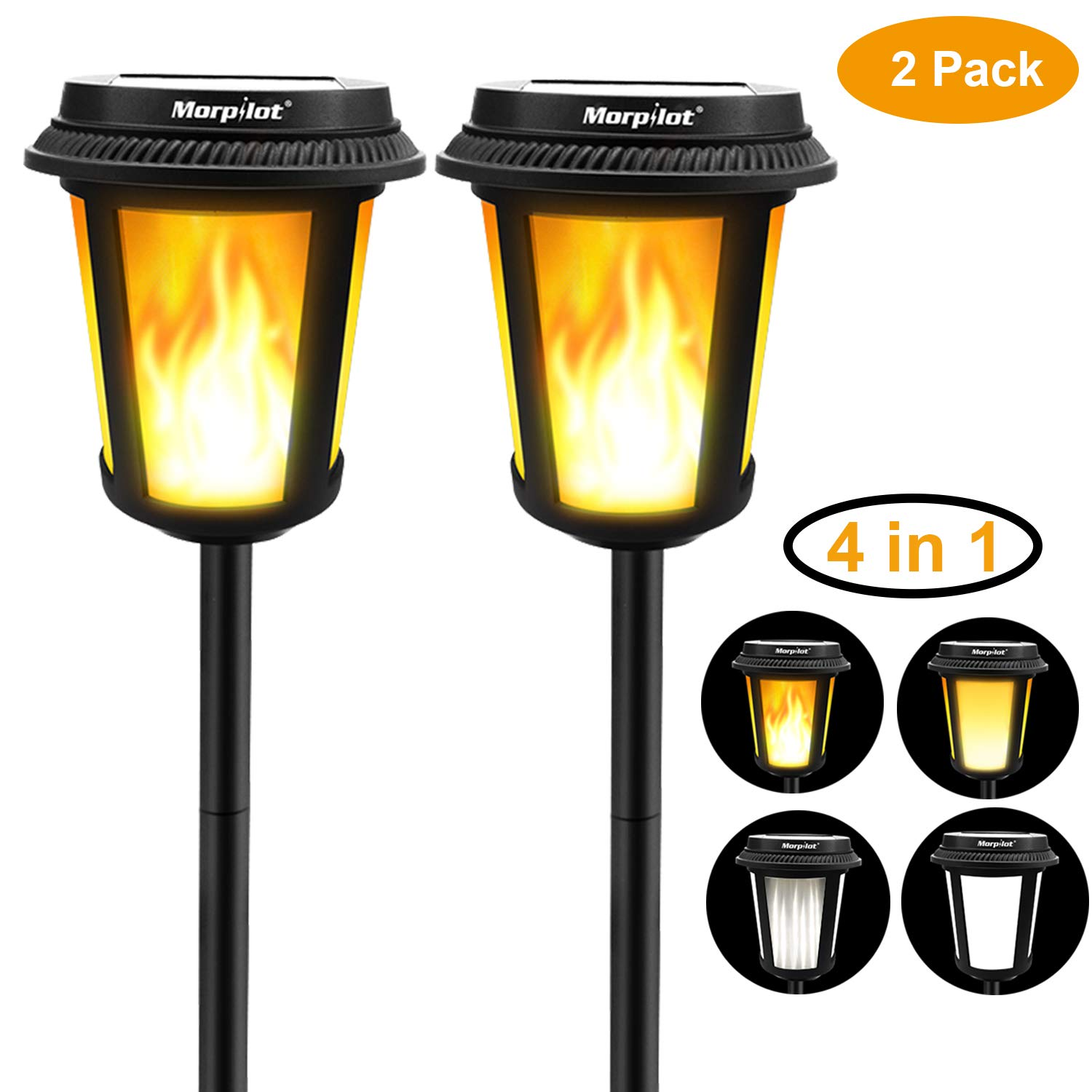 Solar Torch Dual Mode Lights