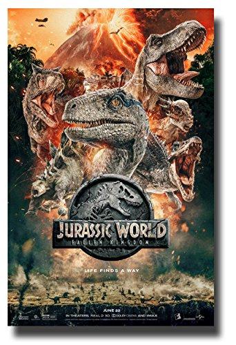 Jurassic World 2 Poster Movie Promo 11 x 17 inches Fallen Kingdom Dino Heads