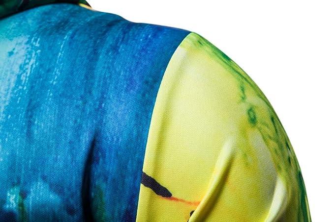 Bestow Sudadera para Hombre de otoño Abrigo de Invierno suéter Casual con Capucha de Manga Larga Impresa en 3D Top: Amazon.es: Ropa y accesorios