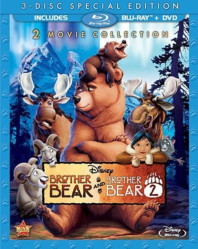 Brother Bear / Brother Bear 2 (3-Disc Special Edition) [Blu-ray / DVD] by Walt Disney Studios Home Entertainment