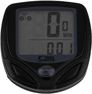 Ulable fil LCD ordinateur de vélo de vélo au mètre Compteur de vitesse Odomètre pour vélo Meilleur