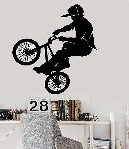 wukongsun Papel Pintado Moda Vinilo PVC Pared calcomanía Bicicleta ...