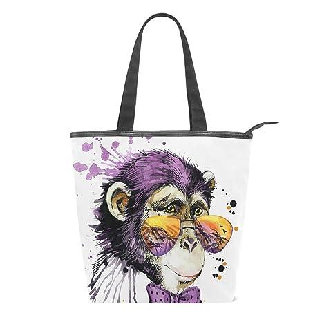 Bolsa de Lona para Pintar al óleo con diseño de Mono, con ...
