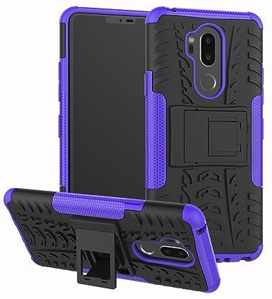 Amazon.com: Yiakeng - Funda para LG G7 de doble capa, a ...