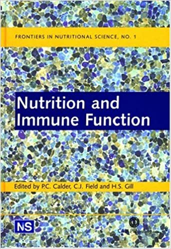 nutrition and immune function calder p c field c j gill h s