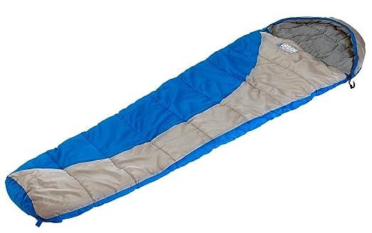 Sleeping Bag Mummy Junior Youth Kids Blue By Urban Escape