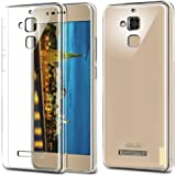 Efonebits(TM) Crystal Clear Hot Transparent Premium Soft Silicone Back Case Cover For Asus Zenfone 3 Max ZC520TL (5.2 inch)