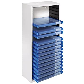 Hama Blu-Ray Holder Box with Space for 20 Cases Beech: Amazon.co ...