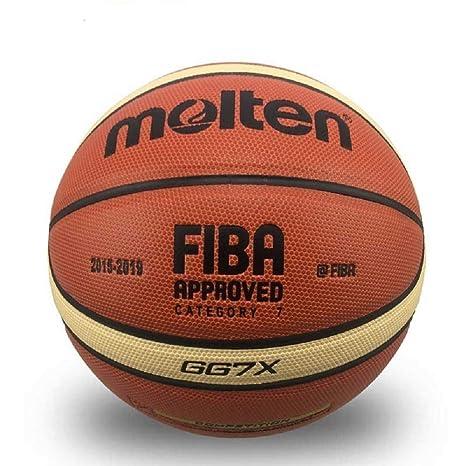 MINSA Balón de Baloncesto GL7, Material de Poliuretano, tamaño ...
