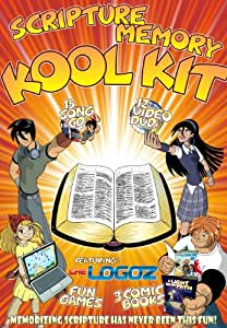 Scripture Memory - CD, Animated DVD, Comic Book, Games featuring The Logoz