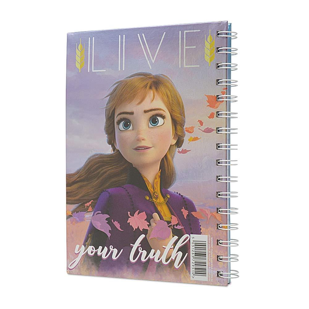 Cuaderno A5 Hermanas Frozen 2 Disney espiral