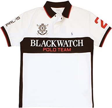 Polo Ralph Lauren Hombre Custom-Fit Blackwatch Rendimiento Polo de ...
