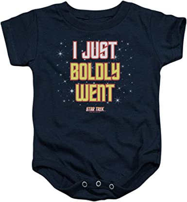 Star Trek I JUST BOLDLY WENT Licensed Adult T-Shirt All Sizes