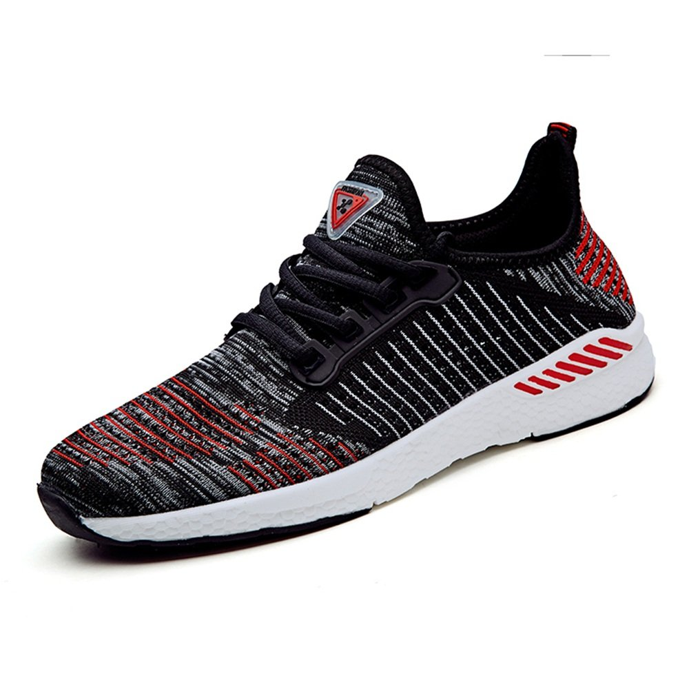 New Women and Mens Flat Heel Lace Up Mesh Fabric Vamp Fashionable Athletic Shoes Up to Size 10.5MUS Mens//Women Shoes