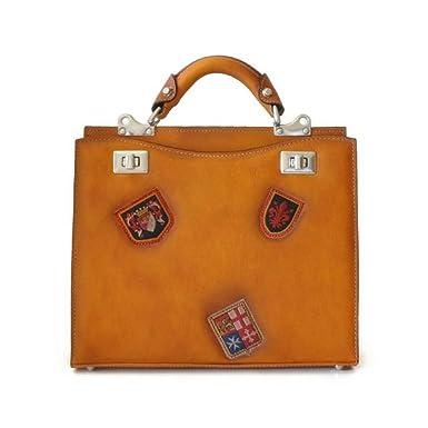 09db0619369c Amazon.com: Pratesi Anna Maria Luisa de' Medici medium Lady Bag ...