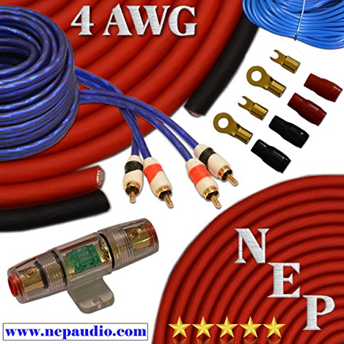 Amplifier Wiring Kits 10 Gauge - 9
