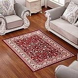 Rug WAN SAN QIAN- Simple European-style Living Room Rectangular Carpet Bedroom Bedside Soft And Comfortable Carpet (Color : D, Size : 80x120cm)