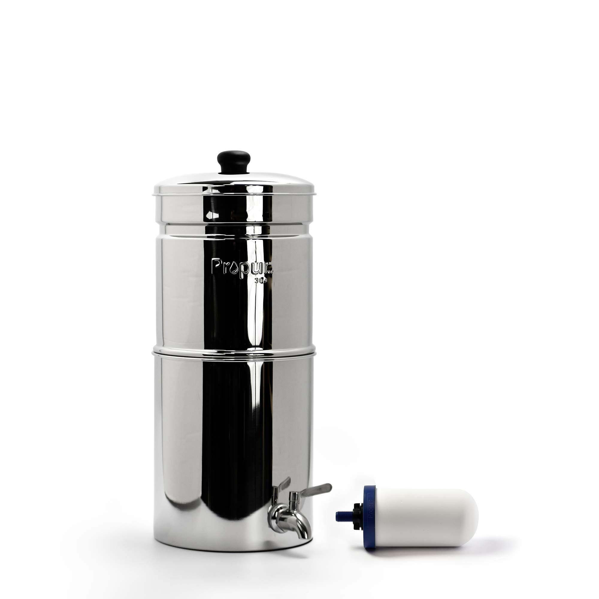 ProPur King Stainless Steel Water Purification 2 of the New ProOne G 2.0 Filter Elements with Fluoride Removal