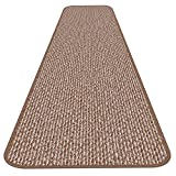 Skid-resistant Carpet Runner - Praline Brown - 14 Ft. X 36 In. - Many Other Sizes to Choose From