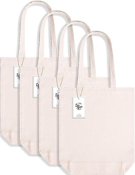 Amazon.com: Lily Queen - Bolsa de lona de algodón para ...