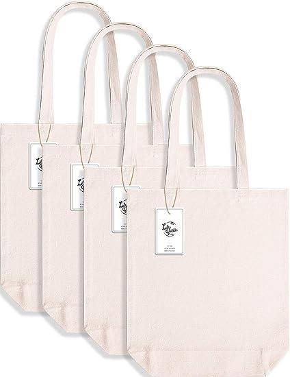 Flat bottom cloth bags