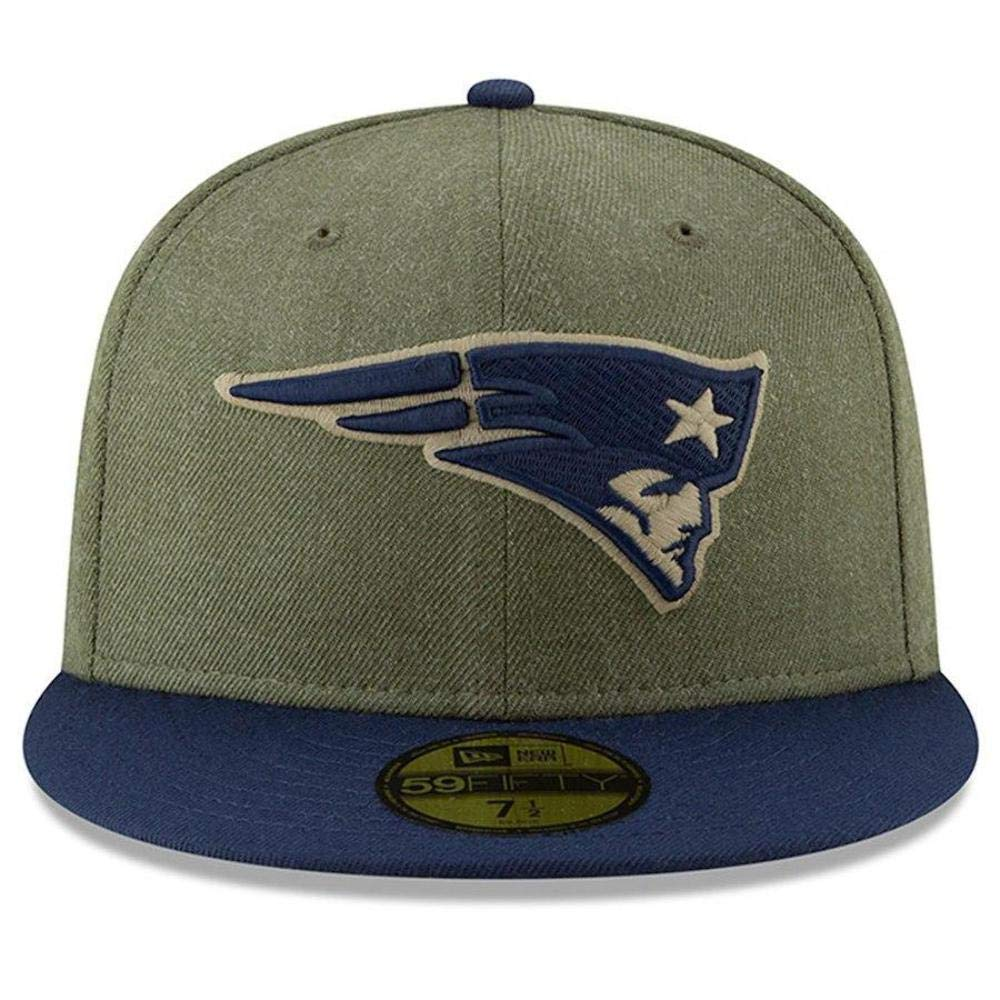 New Era Green Bay Packers On Field 18 Salute to Service Cap 59fifty 5950 Fitted Limited Edition