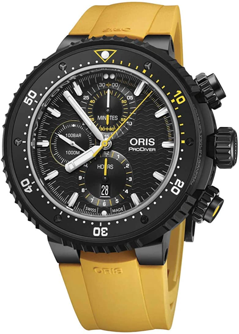 Oris Professional Dive Control Limited Edition Mens Watch Waterproof 1000M