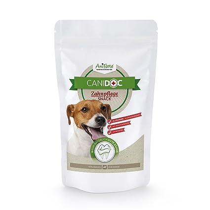 AniForte canidoc Cuidado Dental Snack 100 g para Perros, erli de Fuga de Perros,