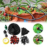 Pasutewel Drip Watering Irrigation System,Garden Automatic Irrigation, Automatic Plant Watering Drip,Adapt to Greenhouse & Plants