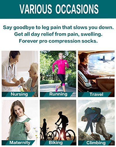 Atist Compression Socks for Women & Men, 15-20 mmHg, Best Graduated Athletic Fit for Running, Nurses, Pregnancy, Flight Travel, Medical, Maternity, Shin Splints