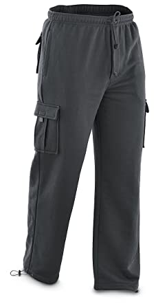 Guide Gear Fleece Cargo Pants at Amazon Men's Clothing store ...