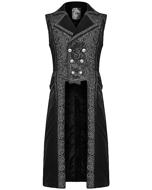 cappotto gotico damasco donna nero