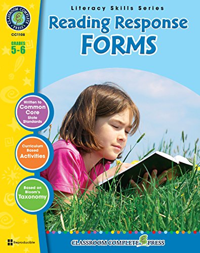 Download Reading Response Forms Gr. 5-6 Pdf