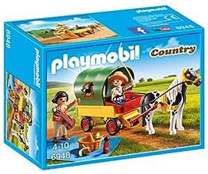 Playmobil Picnic with Pony Wagon Playset Toy