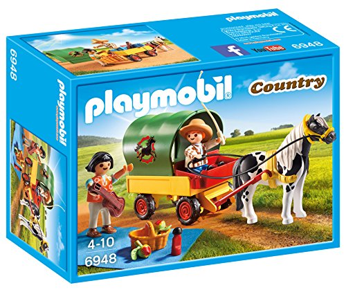 PLAYMOBIL® 6948 Country Picnic with Pony Wagon
