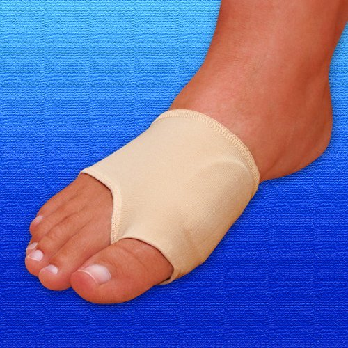 Slim Gel-Fit Bunion Sleeve | Elastic Bunion Sleeve| Elasticated Foot Sleeve with Gel Pad | Medium by Silipos