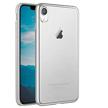 Surakey Funda Compatible para iPhone XR Carcasa Silicona ...