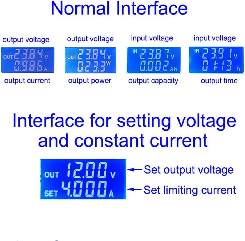 JIACUO ZK-4KX CNC DC-DC Buck Boost Converter Module CC CV 0.5-30V 4A R/égulateur de Tension