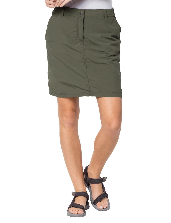 Jack Wolfskin Women's Kalahari Skirt/Skirt, Woodland Green, 46 (US 35/32)