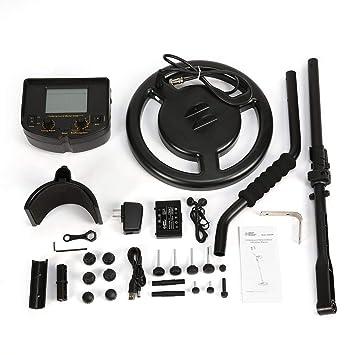Smart Sensor AR924M Detector de Metales subterráneo Profesional Buscador de Plata Dorado Ajustable Buscador de Tesoros Buscador 1.8m de Profundidad: ...