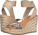 Dolce Vita Women's Pavlin Wedge Sandal, Snake Print Embossed Leather, 7.5 M US