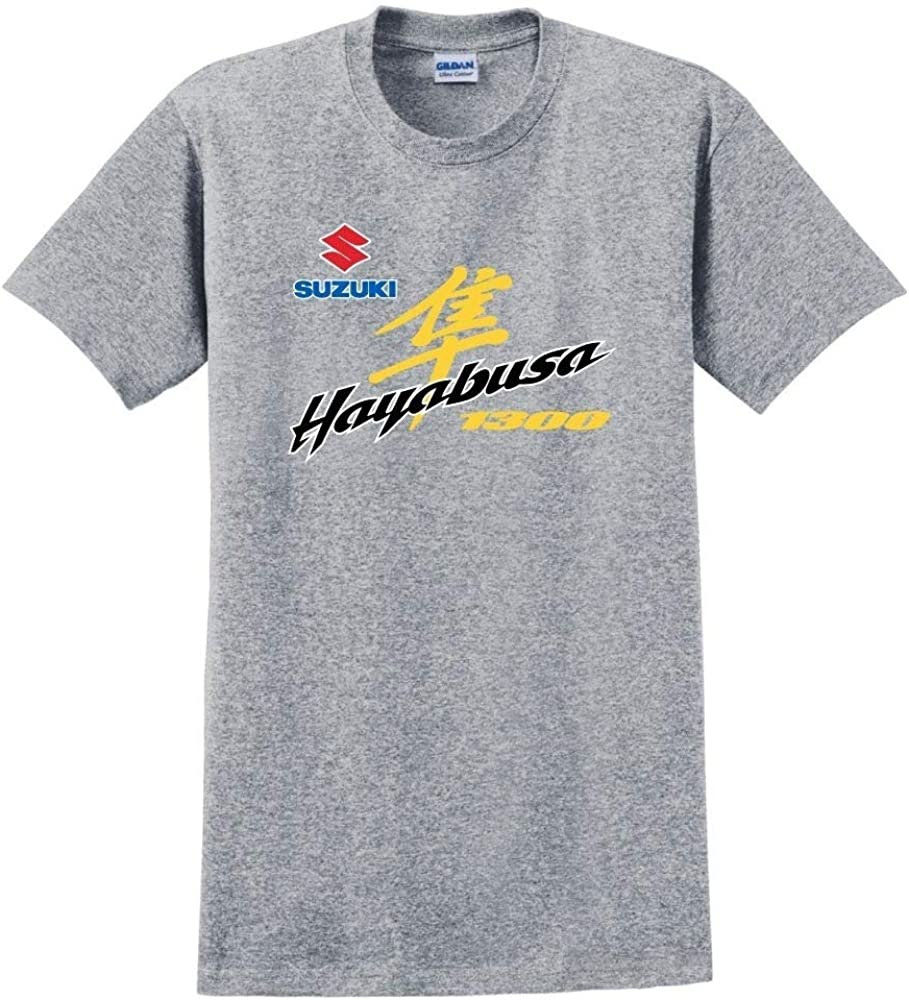 High Quaity Suzuki Hayabusa 1300 Mens T-Shirt Cotton Casual Short Sleeves Funny Tee Shirt